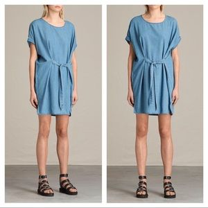 NEW All Saints Sonny denim dress